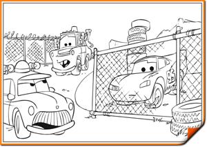 Раскраски детям — Автодети