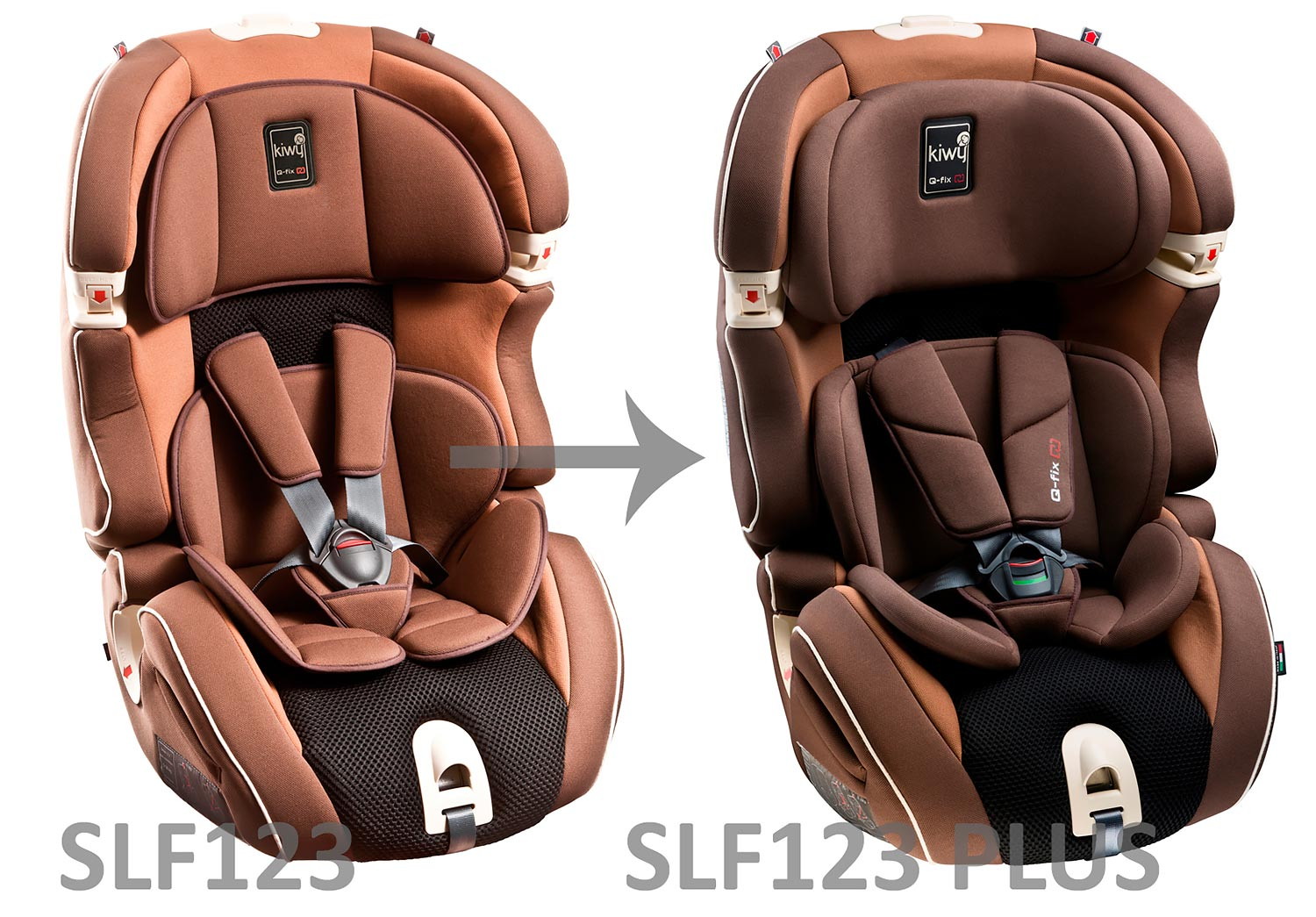 Kiwy SLF 123 vs SLF123 Plus