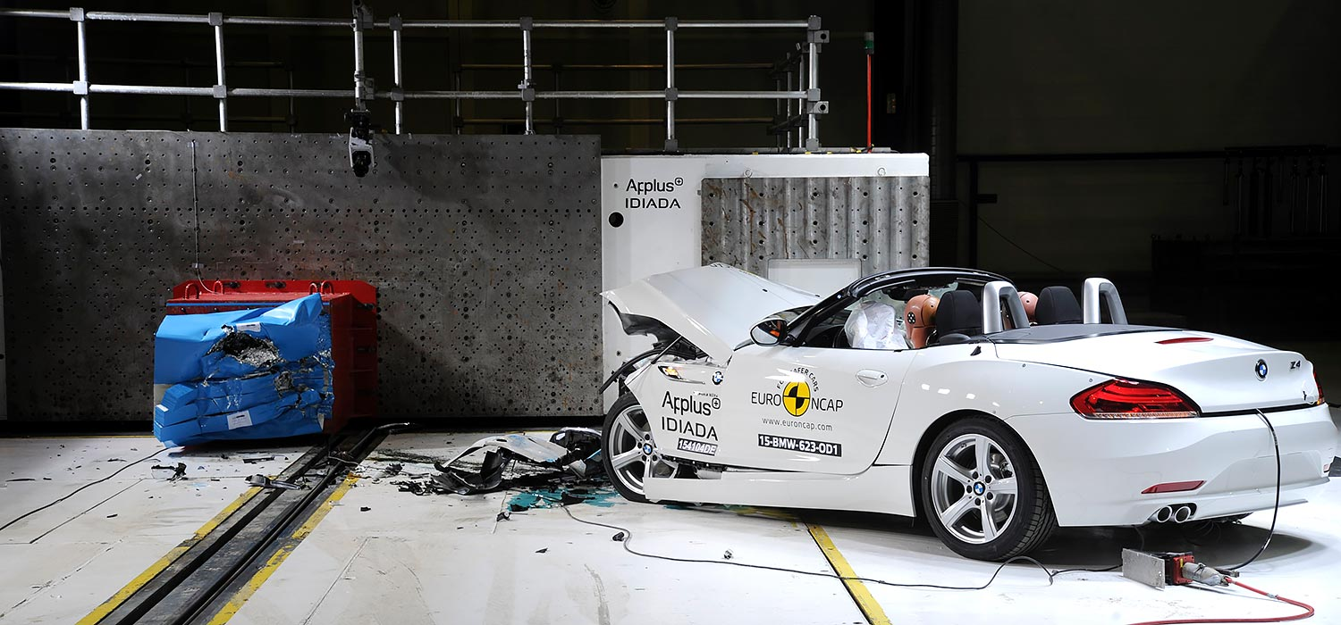 EuroNCAP - test BMW