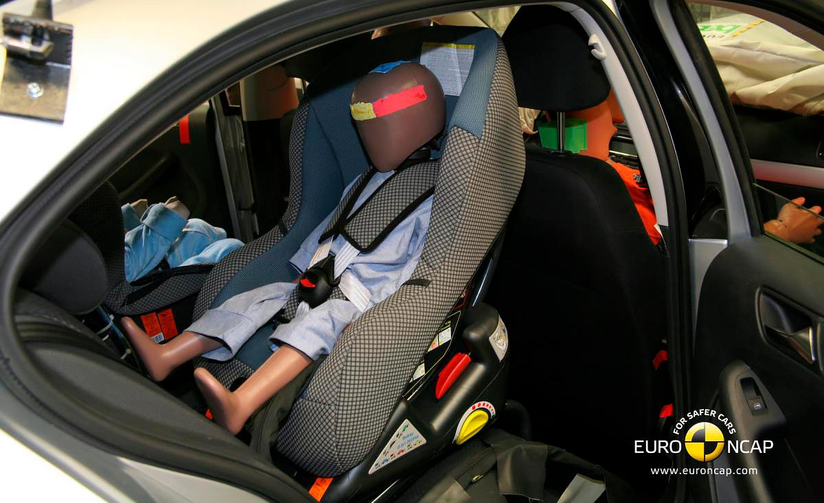 EuroNCAP - carseat crash test
