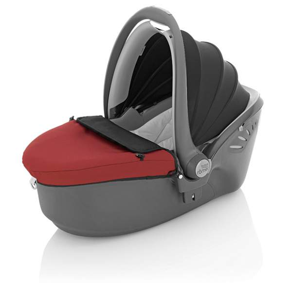 Автокресло Britax Romer Baby-Safe Sleeper Chili Pepper