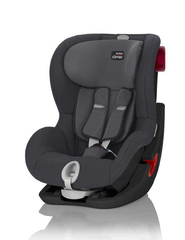 Автокресло Britax Romer King II LS Storm Grey (Black Series)