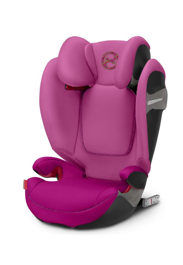 Автокресло Cybex Solution S-Fix Fancy Pink