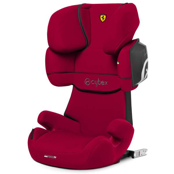 Автокресло Cybex Solution X2-Fix Scuderia Ferrari Racing Red