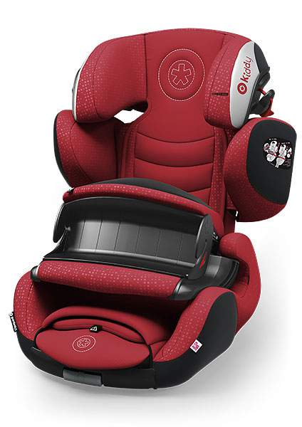Автокресло Kiddy Guardianfix Pro 3 Ruby Red