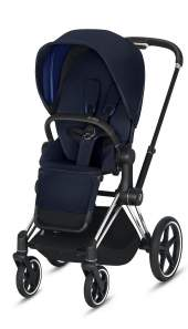 Cybex Priam III Indigo Blue/Chrom Black