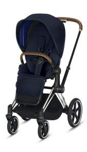 Cybex Priam III Indigo Blue/Chrom Brown