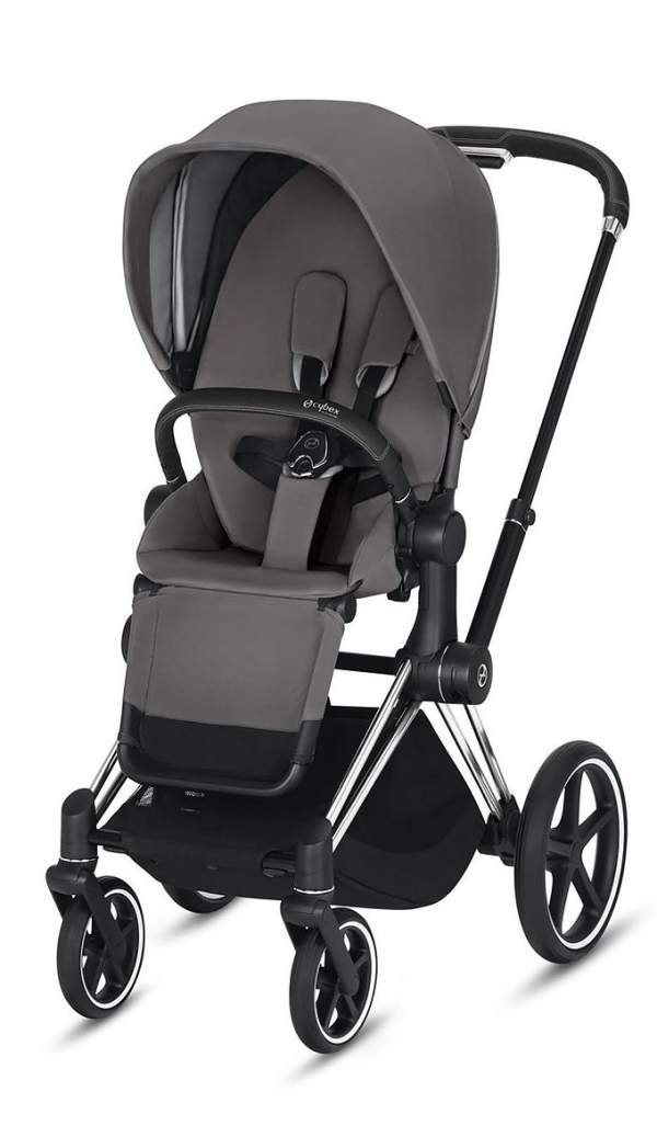 Коляска Cybex Priam III Manhattan Grey/Chrom Black