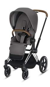 Cybex Priam III Manhattan Grey/Chrom Brown