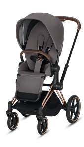 Cybex Priam III Manhattan Grey/Rosegold