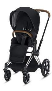 Cybex Priam III Premium Black/Chrom Brown