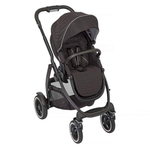 Коляска Graco Evo XT Black Black