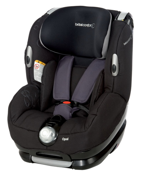 Автокресло Bebe Confort Opal Total Black