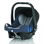 Детское автокресло BRITAX RöMER Baby-Safe plus II Blue Starlite (Belly Button)
