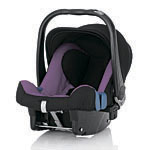 Детское автокресло BRITAX RöMER Baby-Safe plus II Cool Berry (Trendline)
