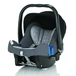 Детское автокресло BRITAX RöMER Baby-Safe plus II Pink Starlite (Belly Button)