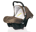Casualplay Baby 0+ Safe tech Brown (931)
