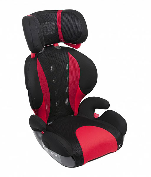 Автокресло CarMate Saratto Highback Junior Black Red
