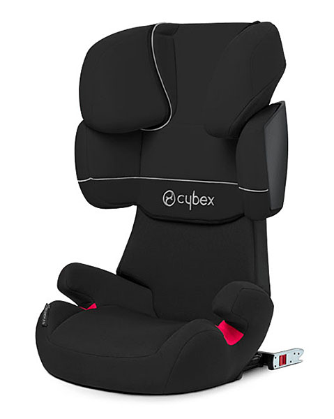 Автокресло Cybex Solution X-Fix Pure Black