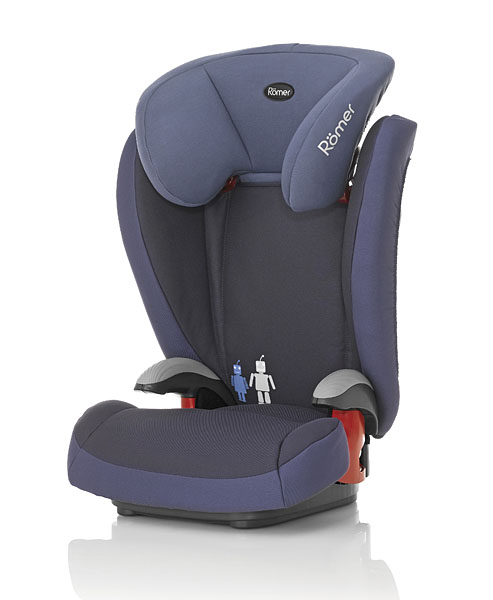 Автокресло Britax Römer Kid plus Crown Blue (Trendline)