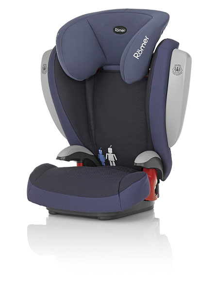 Автокресло Britax Römer Kid plus SICT Crown Blue (Trendline)