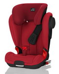 Детское автокресло BRITAX RöMER Kidfix II XP SICT Flame Red (Black Series)