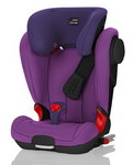 Детское автокресло BRITAX RöMER Kidfix II XP SICT Mineral Purple (Black Series)