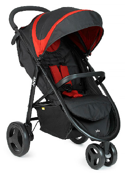 Коляска Joie Litetrax 3 Black Chilli
