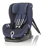 Детское автокресло BRITAX RöMER Safefix plus TT Crown Blue (Trendline)